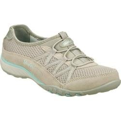 Women's Skechers Relaxed Fit Breathe Easy Relaxation Light Gray