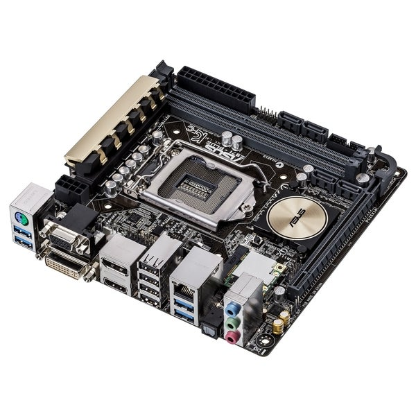 Asus Z97I- PLUS Desktop Motherboard - Intel Z97 Express Chipset - Soc