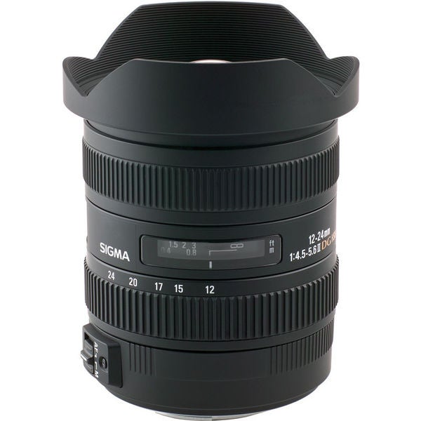Sigma 12-24mm f/4.5-5.6 EX DG Aspherical HSM II Lens For Canon