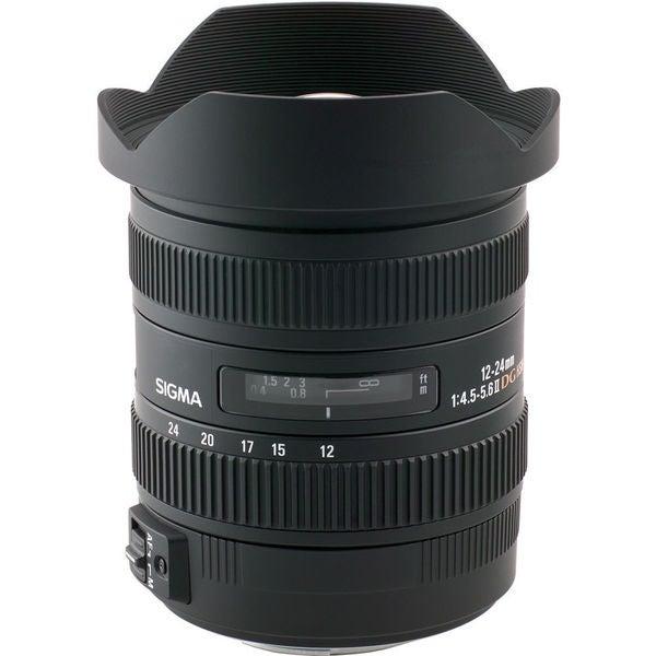 Sigma 12-24mm f/4.5-5.6 EX DG Aspherical HSM II Lens For Canon