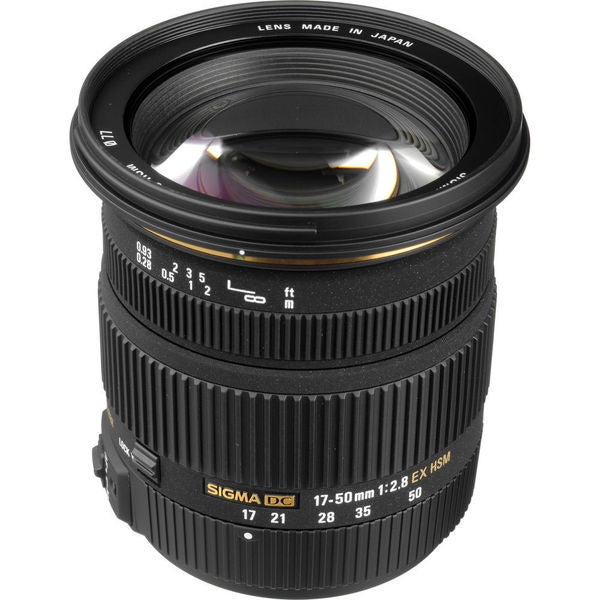 Sigma 17-50mm F2.8 EX DC HSM Lens for Sony / Minolta DSLRs