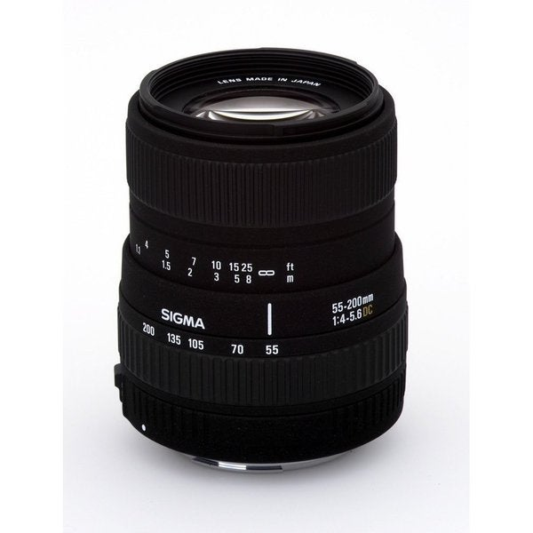 Sigma 55-200mm f/4-5.6 DC AF Lens for Sony Alpha and Minolta DSLR