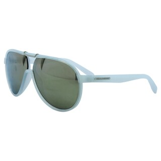 Dolce & Gabbana Men's 'DG 6078 2645/6G' Ice/Grey Mirror Silver Sunglasses