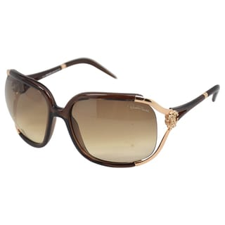 Roberto Cavalli Unisex 'RC370S' Injected Chocolate Brown Sunglasses