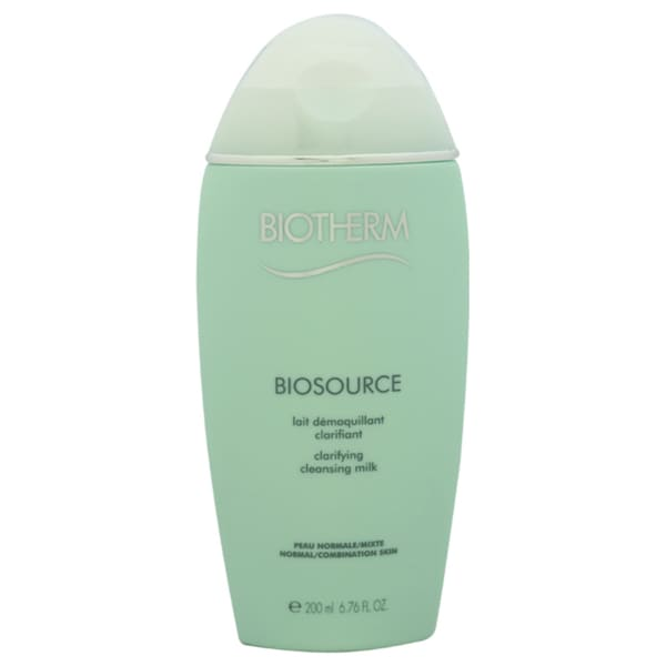 Biotherm Biosource Clarifying Cleansing Milk N-C Skin 6.7-ounce Cleansing Milk