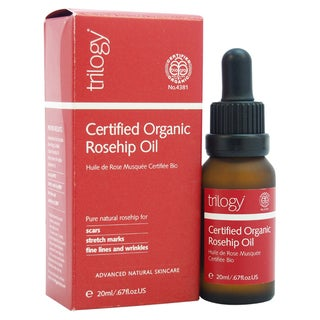 Trilogy Certified Organic Rosehip 0.67-ounce Oil