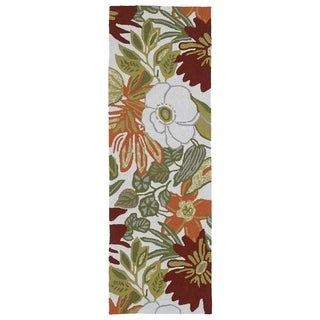 Indoor/Outdoor Luau Multi Jungle Rug (2' x 6')