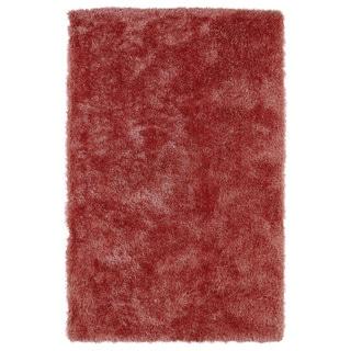 Hand-Tufted Silky Shag Coral Rug (9' x 12')