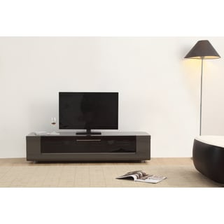Roma Remix Mini IR-remote Compatible Grey Modern TV Stand