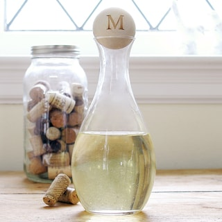 Small Personalized Wine Decanter