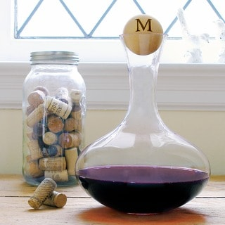 Large Personalized Wine Decanter