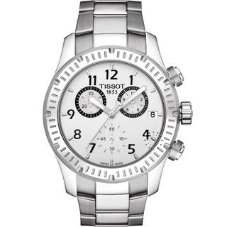 Tissot Men's V8 Chronograph Stainless Steel Watch