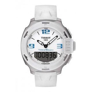 Tissot Men's T0814201701701 T-Race Touch White Hybrid Watch