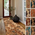 Hand-tufted Wool Transitional Paisley Runner Rug (2'6 x 8')