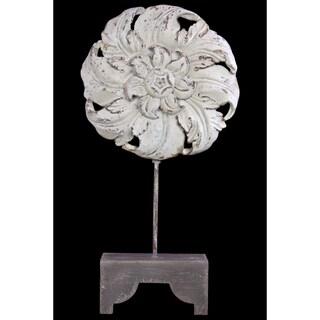 26.75 Inch High Wooden / Resin Art Decor