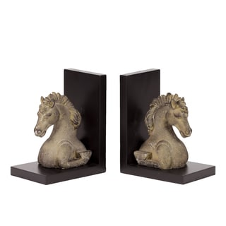 Resin Horse Bookend