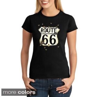 Women's Route 66 Bullet Hole T-shirt