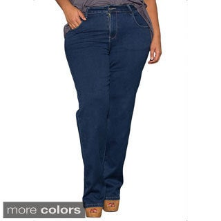 Sealed With a Kiss Women's Plus Size Classic Bootcut Jeans