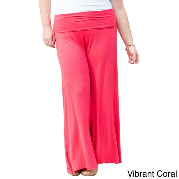 Women's Plus Size Jersey Gaucho Pants