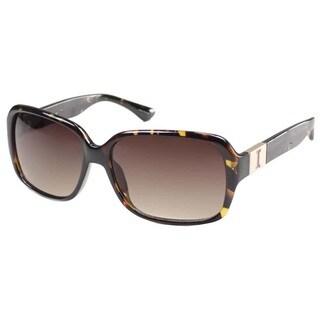 Isaac Mizrahi Women's 'IM 6 20' Tortoise Plastic Fashion Sunglasses