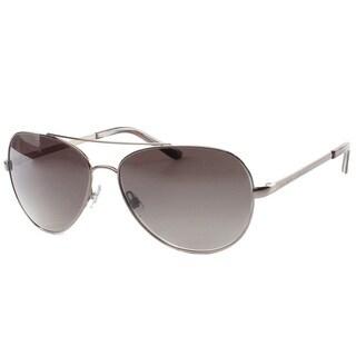 Kate Spade Women's 'Avaline 0EQ6' Silver Metal Aviator Sunglasses