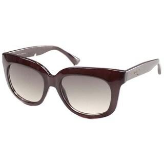 Isaac Mizrahi Women's 'IM 40 20' Brown Plastic Fashion Sunglasses