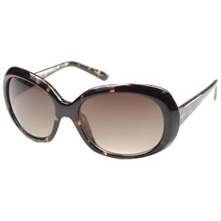 Cole Haan Women's 'CO 698 21' Tortoise Plastic Fashion Sunglasses