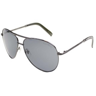 Cole Haan Unisex 'CO 736 36' Black Metal Aviator Sunglasses
