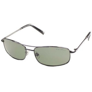 Cole Haan Unisex 'CO 744 36' Black Metal Fashion Sunglasses