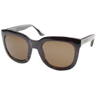 Isaac Mizrahi Women's 'IM 23 20' Tortoise Plastic Fashion Sunglasses