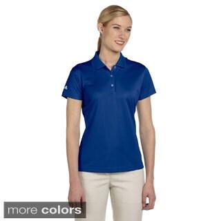 Adidas Women's ClimaLite Basic Short-sleeve Polo