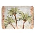 Hand-painted Key West 16-inch Rectangular Ceramic Serving Platter