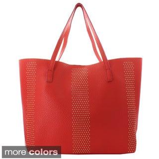 Oasis Handbag 'Hilary' Studded 2-in-1 Tote Bag
