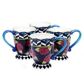 Classic Rose 16-ounce Mug (Set of 4)