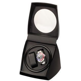 Diplomat Black Double Watch Winder