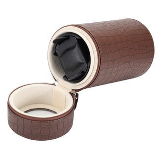 Diplomat Brown Single Travel Watch Winder