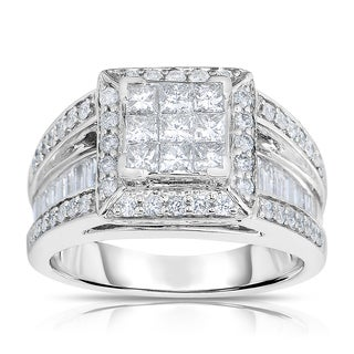 14k White Gold 1 1/2ct TDW Diamond Ring (G-H, I2)