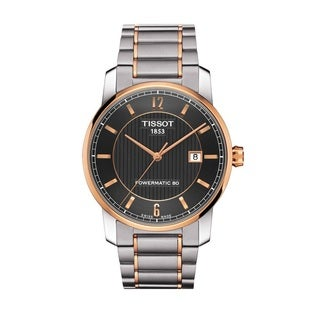 Tissot Men's T0874075506700 Titanium Automatic Swiss Watch