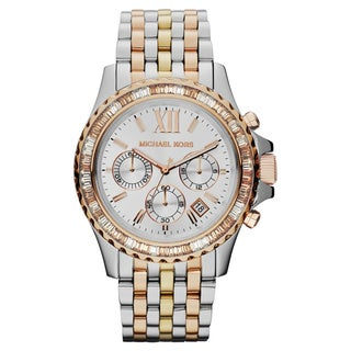Michael Kors Women's MK5876 Everest Mid-size Tri-tone Watch