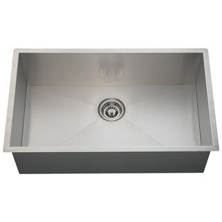 Polaris Sinks PS2233 90 Deg. Industrial Rectangular Stainless Steel Sink