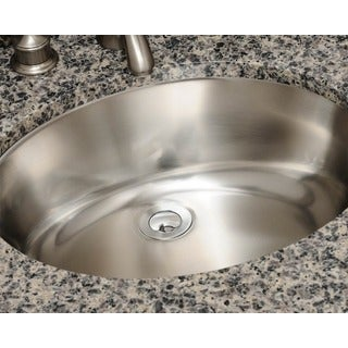 Polaris Sinks P7191 Stainless Steel Vanity Sink