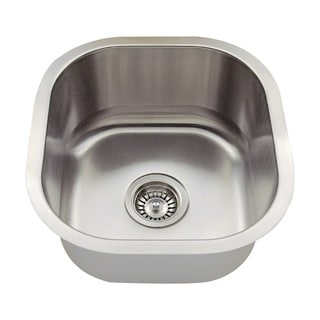 Polaris Sinks P6171-18 Stainless Steel Bar Sink