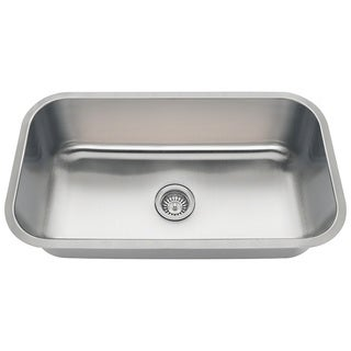 Polaris Sinks PC8123 Single Bowl Stainless Steel Sink