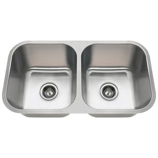 Polaris Sinks PA8123 Undermount Stainless Steel Kitchen Sink