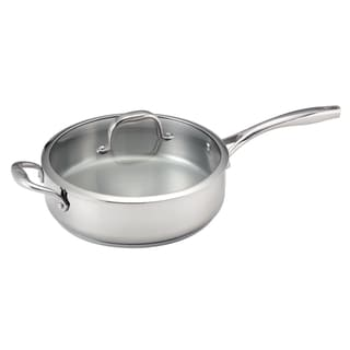 Guy Fieri 5-quart Stainless Steel Deep Saute Pan