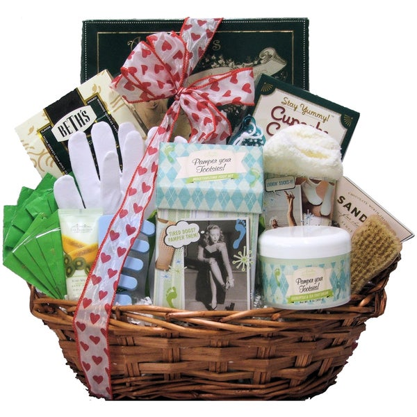 Hands and Feet Specialty Bath and Body Spa Gift Basket