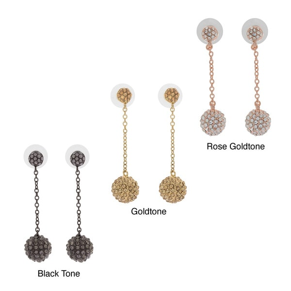 NEXTE Jewelry Long Dangle Meteor Hammer Earrings