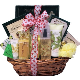 Vanilla Orchid Spa Luxuries Bath and Body Spa Gift Basket