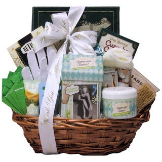 Hands and Feet Specialty Spa Admistrative Professionals Day Bath and Body Gift Basket