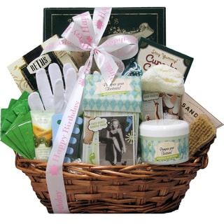 Hands and Feet Specialty Spa Birthday Bath and Body Gift Basket